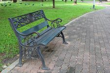 Free Bench In The Park.Part 2 Royalty Free Stock Photos - 34305208