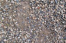 Dusty Gravel Texture Stock Image