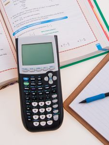Free Scientific Calculator For School Royalty Free Stock Photos - 34308998