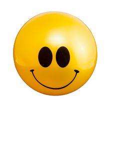 Happy Face Ball Royalty Free Stock Photo