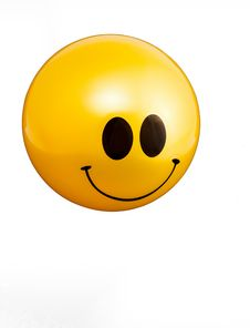 Free Happy Face Ball Royalty Free Stock Image - 34309036