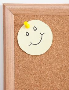 Cork Board Notes Royalty Free Stock Photo