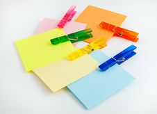 Free Sticky Note Paper Royalty Free Stock Photos - 34309058