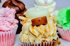 Free Cupcake Variety Royalty Free Stock Photography - 34310217