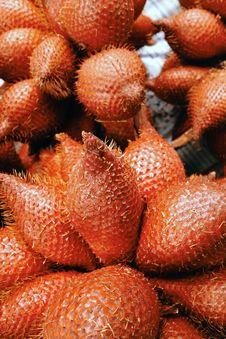 Free Zalacca Tropical Fruit Background Stock Images - 34310314