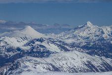 Free Winter Mountains. Chile Stock Photos - 34311933