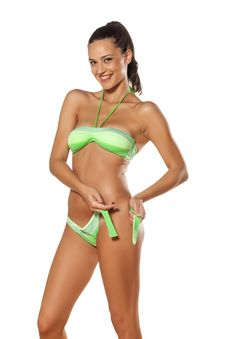 Free Dressing Up A Bikini Stock Image - 34312791
