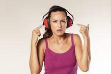 Free Anti-noise Headset Stock Photo - 34313300