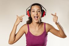 Free Anti-noise Headset Stock Photos - 34313303