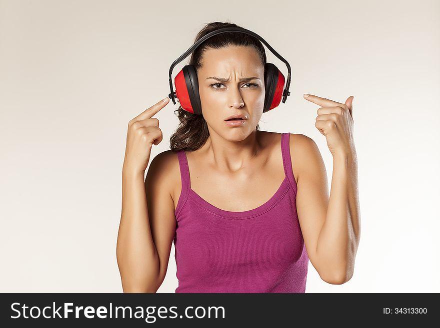 Anti-noise headset