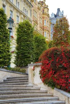 Free Autumn View Of Karlovy Vary &x28;Karlsbad&x29; Stock Image - 34326291