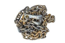 Free Chain And Hook Is Rusty Stock Photo - 34327630