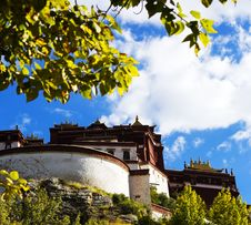 Free A Corner Of The Potala Palace Stock Image - 34327961
