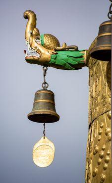 Free Aeolian Bells Stock Image - 34328611