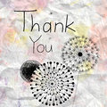 Free Thank You Card Royalty Free Stock Photography - 34331337