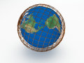 Free Earth 3d Render Abstract Royalty Free Stock Photography - 34339267