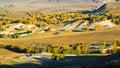 Free Dam Autumn In Inner Mongolia Stock Photo - 34339790