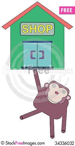 Free Ape Shop Lifts Stock Photography - 34336032