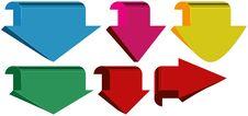 Free Arrows Stock Image - 34338421