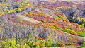 Free Dam Autumn In Inner Mongolia Stock Photography - 34340372