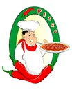 Free Pizza Chef Royalty Free Stock Image - 34376396