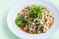 Free Spicy Roasting Pork Salad Royalty Free Stock Image - 34378926