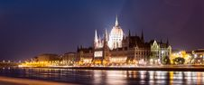 Hungarian Parliament Building During Nighttime