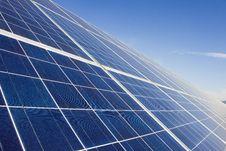Free Solar Panel Royalty Free Stock Photos - 34373818