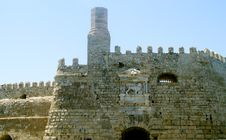 Free Fortress In The Port Of Heraklion Stock Photo - 34373940