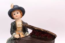 Child Porcelain Pianist