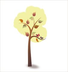 Free Autumn Tree Royalty Free Stock Image - 34382036