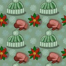 Free Seamless Winter Texture Stock Photo - 34383160
