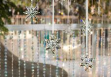Snow Flake Cystals Royalty Free Stock Image