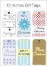 Free Chritmas Gift Tags Royalty Free Stock Photo - 34399345