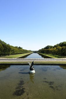 The Park Of Fontainebleau Royalty Free Stock Photography