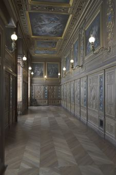 Caste Of Fontainebleau Stock Images