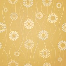 Free Floral Pattern Royalty Free Stock Photo - 34393065