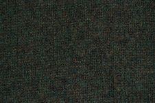 Vintage Green Plush Fabric Texture Royalty Free Stock Image