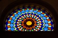 Free Stained Glass Window Stock Image - 34395821