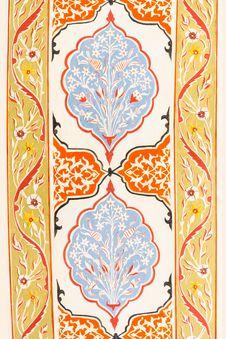 Free Byzantine Decorative Panel Royalty Free Stock Image - 34395936