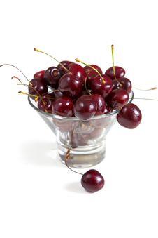 Free Fresh Cherries In Bowl Royalty Free Stock Photos - 34397568