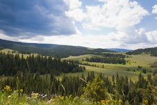 Free Mountain Meadow Royalty Free Stock Photos - 34397928