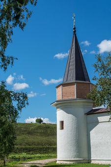 Free Tower In The Svjato-Uspenskom Monastery Stock Image - 34399031