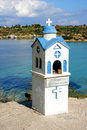 Free Little Church In Greece Royalty Free Stock Images - 3442909