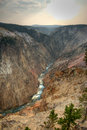 Free Grand Canyon Of Yellowstone Royalty Free Stock Image - 3445586