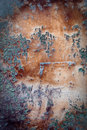 Free Dirty Damaged Rusty Wall Royalty Free Stock Photos - 3447598