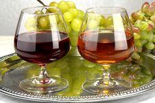 Free Grapes Royalty Free Stock Photo - 3440105