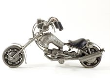 Free Recycle Motorbike Royalty Free Stock Photo - 3440835