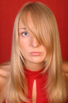 Free Blonde Girl Stock Image - 3440931