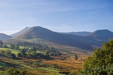 Free Causey Pike In Autumn Stock Photo - 3441000